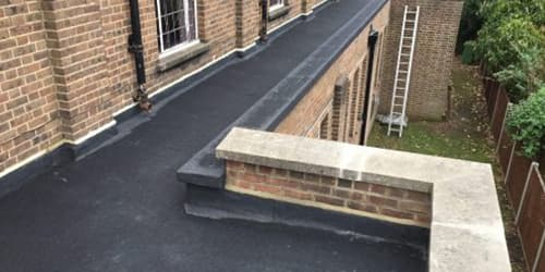 Parapet roof - Firewalls